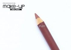 Карандаш для губ Lip Pencil  MAKE-UP-SECRET FL01