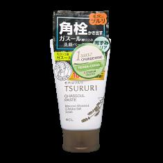 BCL Пенка-скраб для глубокого очищения кожи с марокканской вулканической глиной и андской каменной солью / TSURURI 120 г