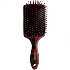 Щетка для волос квадратная с пластиковыми зубьями Clarette