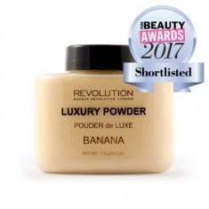 Рассыпчатая пудра Makeup Revolution Luxury Banana Baking Powder