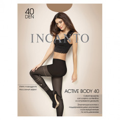 Колготки женские INCANTO ACTIVE BODY 40 den тон Daino р-р 4