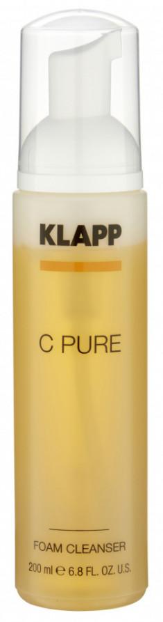 KLAPP Пенка очищающая для лица / C PURE 200 мл