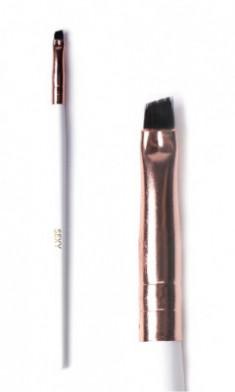 Кисть скошенная для окрашивания бровей (мини) SEXY Innovator Cosmetics