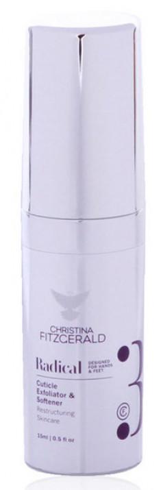CHRISTINA FITZGERALD Гель-эксфолиант смягчающий для кутикулы / Cuticle Exfoliator & Softener RADICAL 15 мл