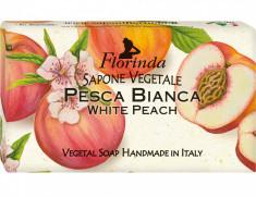 FLORINDA Мыло растительное, белый персик / Pesca Bianca 200 г