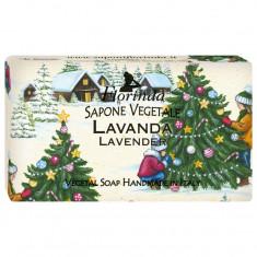 FLORINDA Мыло растительное, лаванда / Lavanda 100 г
