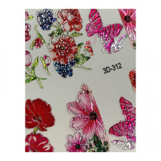 AnnaTkacheva,3D-слайдерCrystal№312 «Цветы. Бабочки» Anna Tkacheva
