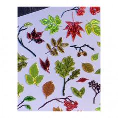 AnnaTkacheva,3D-слайдерCrystal№687 «Осень. Листья» Anna Tkacheva