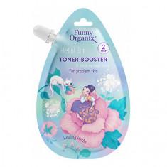 Funny Organix, Тонер-бустер для лица Healing Herbs, 20 мл