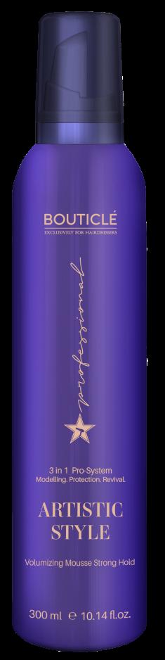 BOUTICLE Мусс-объем сильной фиксации для волос / Artistic Style Volumizing Mousse Strong Hold 300 мл