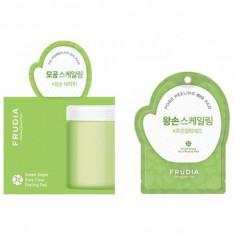отшелушивающие диски с зеленым виноградом frudia green grape pore peeling pad