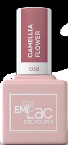 E.MI 038 SE гель-лак для ногтей, Цветущая камелия / E.MiLac Shades of Elegance 9 мл