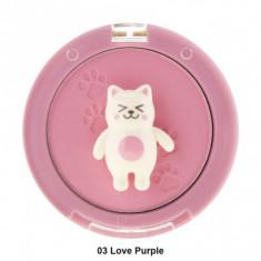Румяна Tony Moly Bling Cat Powder Cheek 03 Love Purple 6,5г