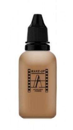 Тон-флюид водостойкий для аэрографа Make-Up Atelier Fond de Teint HD 6NB темный натурально-бежевый 30 м Make-Up Atelier Paris