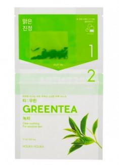 Маска-чай с зеленым чаем Holika Holika Instantly Brewing Tea Bag Mask Green Tea 29 мл