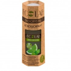 Дезодорант-шарик для тела Deo Crystal Кора дуба и зеленый чай ECOLAB