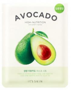 Тканевая маска смягчающая с авокадо It'S SKIN The Fresh Avocado Mask Sheet 21 г