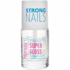 Верхнее покрытие быстросохнущее Super Gloss Profnail NINELLE