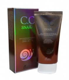 СС-крем с улиточным муцином Ekel CC Cream Snail SPF50+ PA +++ 50 мл