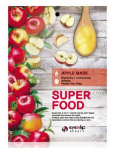 Маска для лица тканевая с яблоком EYENLIP SUPER FOOD APPLE MASK 23мл