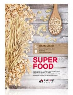 Маска для лица тканевая с овсом EYENLIP SUPER FOOD OATS MASK 23мл