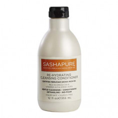 Sashapure, Кондиционер для волос Re-hydrating Сleansing, 355 мл