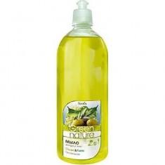 Мыло для рук и тела Олива липа Green Nature FLORALIS