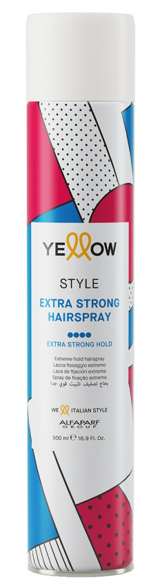 YELLOW Лак экстрасильной фиксации для волос / YE STYLE EXTRA STRONG HAIRSPRAY 500 мл