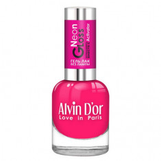Alvin D'or, Лак-гель Neon Gloss №02