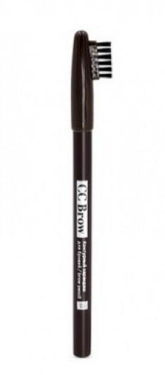 Контурный карандаш для бровей СС Brow brow pencil 03 dark brown CC Brow