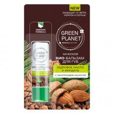 Green Planet, Био-бальзам для губ «Кедровое масло и миндаль»