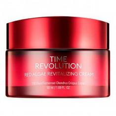 крем c экстрактом красных водорослей missha time revolution red algae revitalizing cream