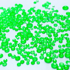 FanatkaStraz, Стразы Electric Green №706, микс, 300 шт.