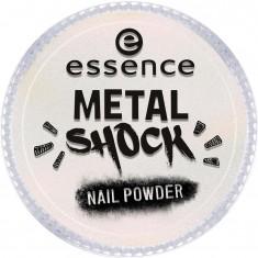 Эффектная пудра для ногтей Metal Shock Nail Powder Essence